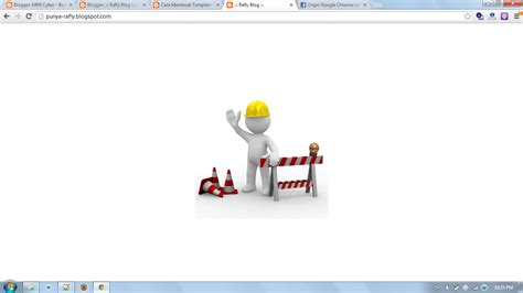 membuat html under construction cara membuat tilan blog maintenance under