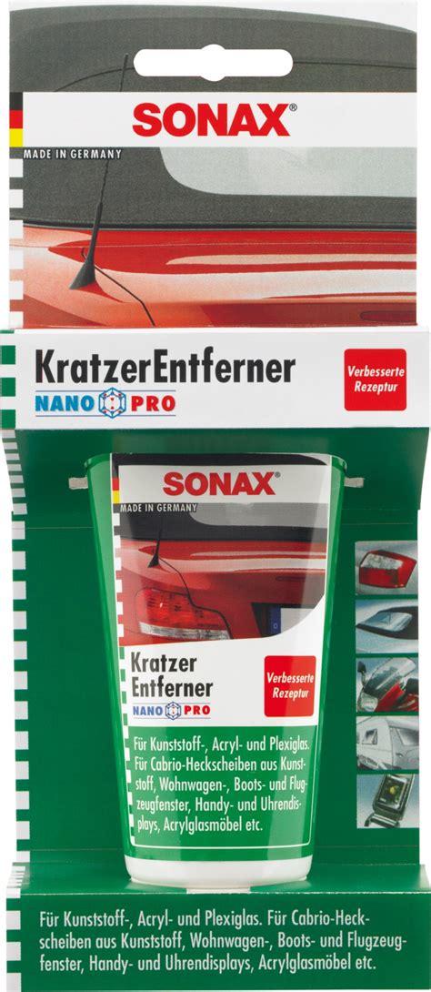 Plexiglas Polieren Autopolitur by Sonax Kratzerentferner Kunststoff Kratzer Auto 75ml Ebay