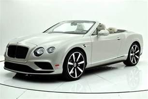 Bentley Continental Gt V8 S Convertible 2017 Bentley Continental Gt V8 S Convertible