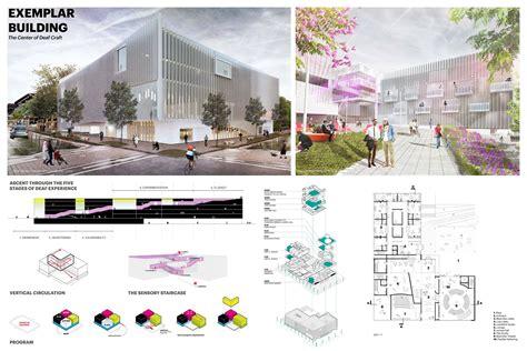 layout and density of building mass design group gallaudet university international