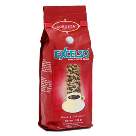 Coffee Bean Excelso excelso robusta roasted 8 8 oz 250 grams coffee bean