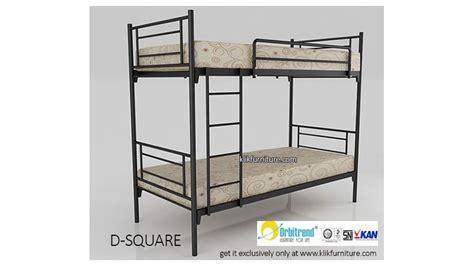 Ranjang Besi Modern ranjang tingkat besi d square orbitrend promo sale