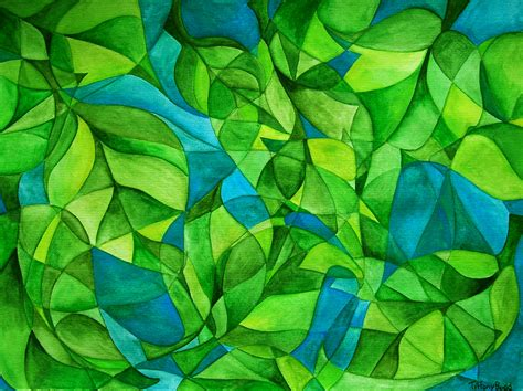 abstract leaf pattern image gallery leaf abstract art