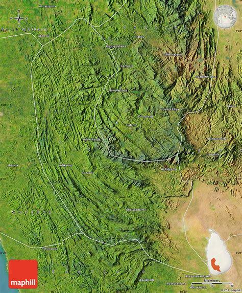 sri lanka satellite map satellite map of sabaragamuwa