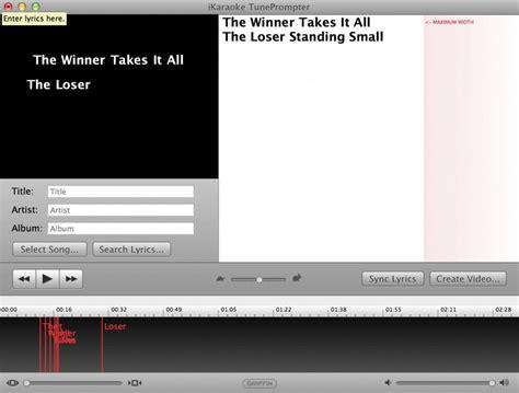 best karaoke software for mac karaoke for mac the best software