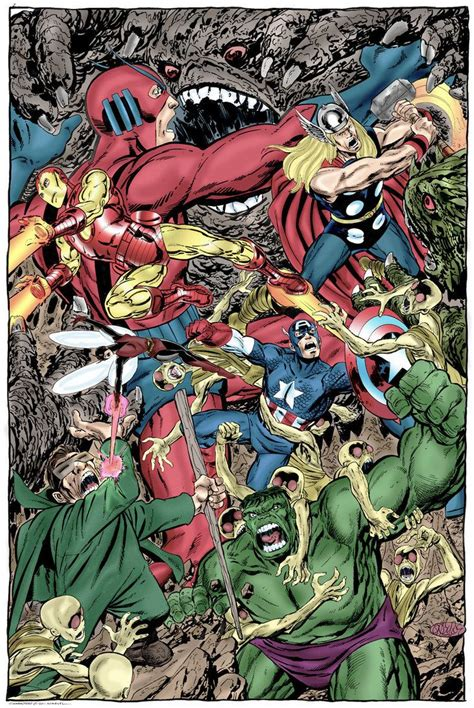 libro avengers by john byrne 269 best images about marvel battles on iron fist black bolt and captain america