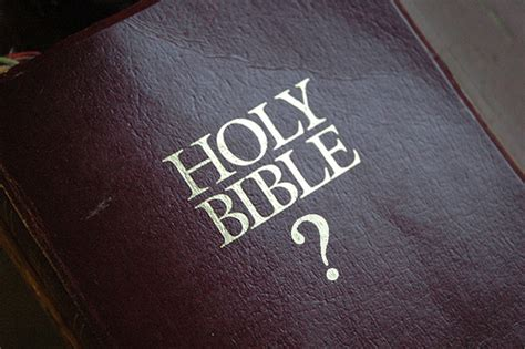 Question Bible | is bad for a christian to question the bible createdebate