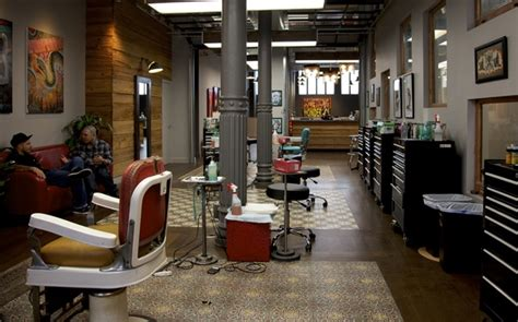 tattoo shop furniture gallery shop interior design ideas