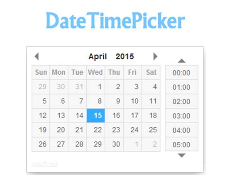 format date jquery datetimepicker jquery date and time picker plugin