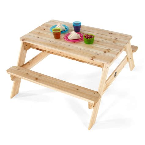 Sand Play Table by Wooden Sand Picnic Table Plum Play