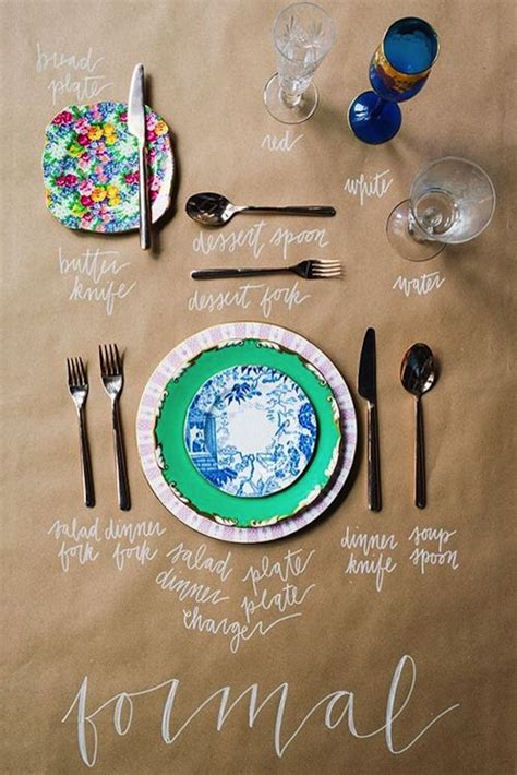 how to set a formal table how to set a formal place setting