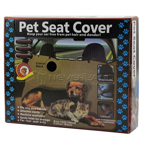 Pet Cover by Pet Car Suv Back Rear Bench Seat Mat Cover Waterproof