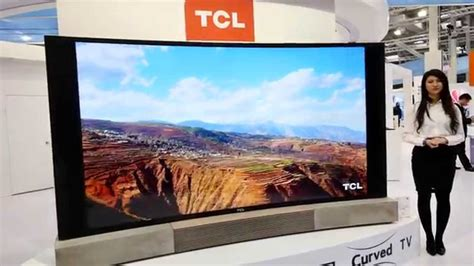 Tv Led Merk Tcl tcl 55 quot curved led smart tv