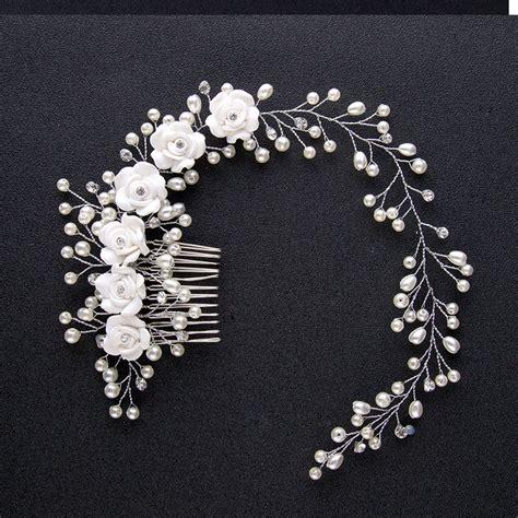 Sirkam Pearl Rhinestone Wedding Jewelry U Hairpin Harga 1pcs buy grosir bunga hiasan kepala pengantin from china bunga hiasan kepala pengantin penjual