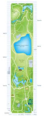 central park new york map