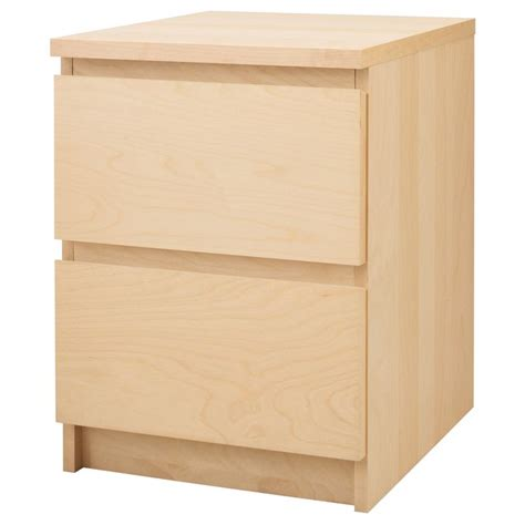 ikea malm chest of 6 drawers birch veneer malm chest with 2 drawers birch veneer