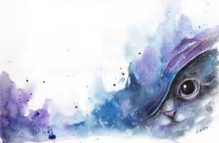 water color cat watercolor cat 2 by leamatte on deviantart