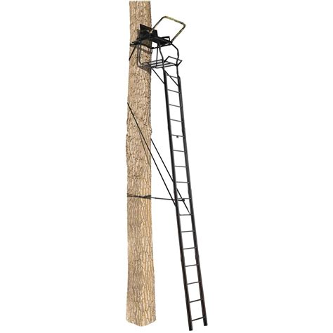 tree stand ladder sections big game 174 legend ladder tree stand 621664 ladder tree