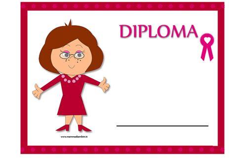 lettere alle maestre diploma per la maestra di anno scolastico mamma e