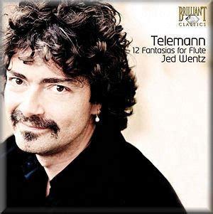 Telenan Transparan telemann 12 fantasias for flute wentz brilliant 93440 ks