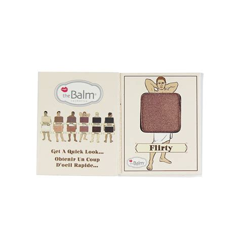 The Balm Apple 3 Dude Eyeshadow product dude eyeshadow single in flirty by thebalm cosmetics ipsy