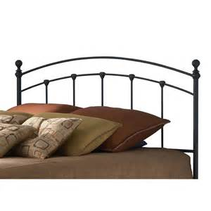 Black Metal Headboard Size Arching Metal Headboard In Matte Black Finish Affordable Beds