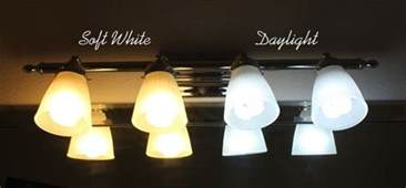 daylight bulb color soft white vs daylight light bulbs before and after