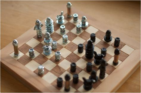 diy chess set top 10 unusual diy chess sets top inspired