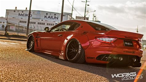 Maserati Granturismo Top Gear by Here S The Liberty Walk Maserati Granturismo Top Gear