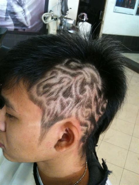 hair tattoos נιм тαη a k a smart 2 idiot my new hair