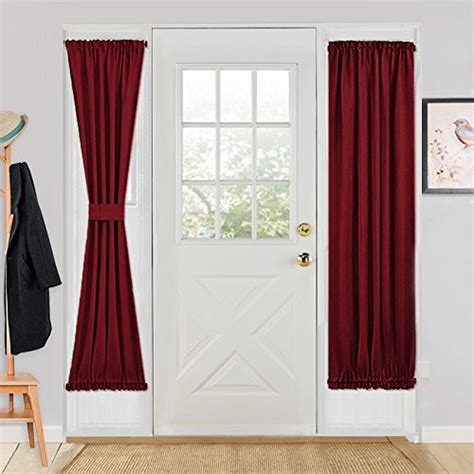 rod pocket top and bottom curtains compare price to unique door panels afscstore org