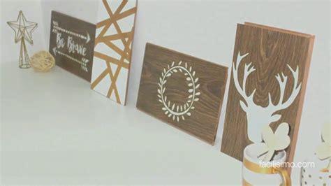 hacer cuadro de fotos c 243 mo hacer cuadros decorativos con madera facilisimo