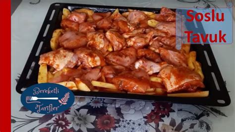 Tavuk Sosu 300x225 Tavuk Sosu   fırında soslu patatesli tavuk tarifi tavuk lezzeti