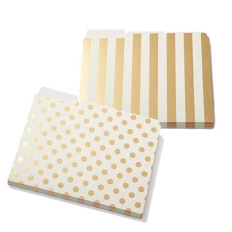 kate spade file folders stylish office supplies