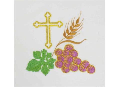 imagenes de uvas y trigo conjunto de altar bordado conjunto de altar iglesia