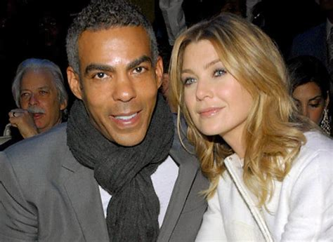 popular white actors with their black spouses interracial ellen pompeo and husband chris ivery welcome baby girl