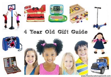 gift ideas for under 4 year old 4 year birthday gift ideas the educators spin on it