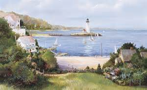 Lighthouse Cove Wall Mural Decor Place Wall Murals