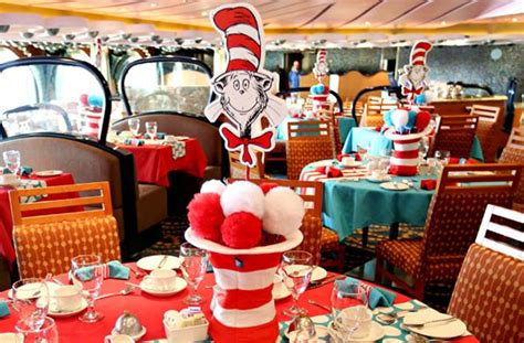 carnival cruise themes new carnival cruise has a dr seuss themed water park onboard