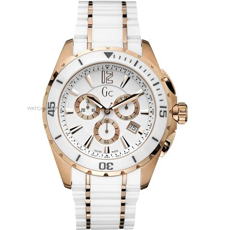 Gc Chrono On Semua White s gc sport class ceramic chronograph x76003g1s shop