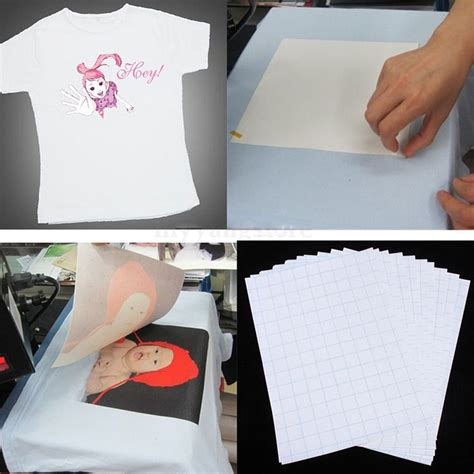 iron on transfer paper printing white 10 sheets a4 size iron on transfer paper inkjet heat