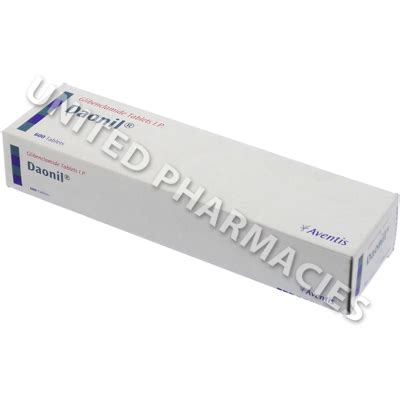 Daonil Glibenclamide daonil glibenclamide ip 5mg 10 tablets united