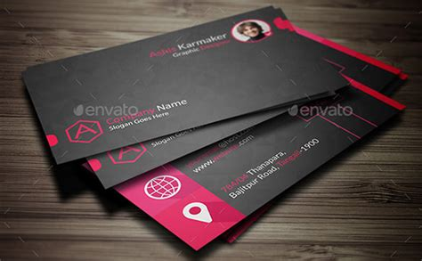 name card template psd free name card template 16 free sle exle format