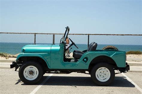 turquoise jeep cj sell used 1966 jeep cj5 kaiser 2 door 2 2l tuxedo wrangler