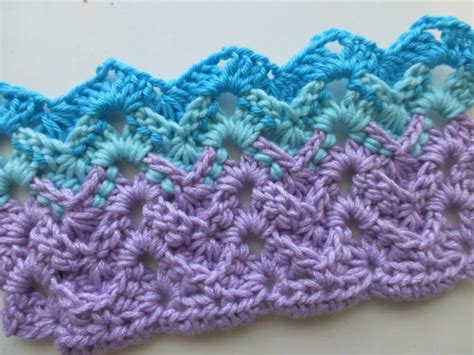 zig zag crochet pattern how to how to crochet crochet stitch zigzag with profile