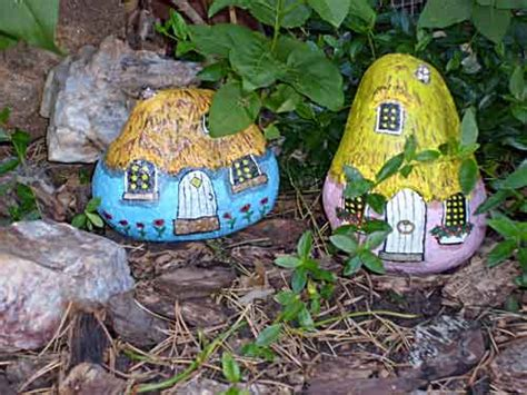 painted rock houses painting rock stone animals nativity sets more add
