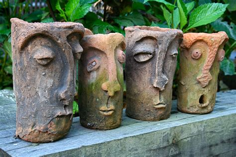 face planters change look of garden with beautiful garden pots