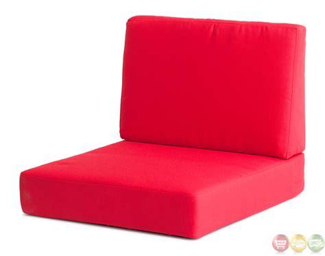 outdoor armchair cushions cosmopolitan red arm chair cushions zuo modern 701843