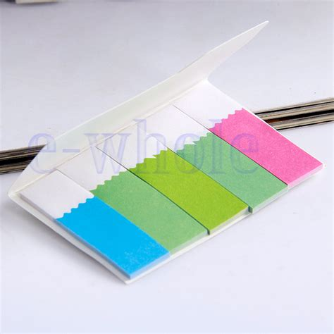 The Sticky Factor 2 by 2 Sticky Post It Notes Paper Diary Notebook Memo Pad Tab