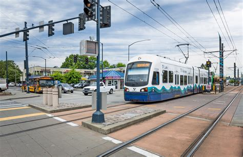 Seattle Light Rail Stations by Sound Transit Seattle Central Link Light Rail Wa Dks